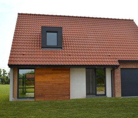 Constructeur Maison Traditionnelle Brique Enduit Bardage Nord 59 62